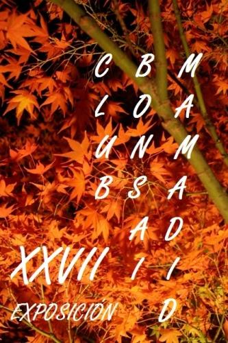 Cartel XXVII Exposicion Club Bonsai Madrid