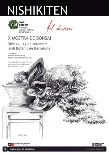Bonsai Nishikiten X Mostra de Bonsai - eventos