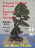 Cartel VI Mostra Provincial de Bonsai y Exposición XXV Aniversario