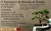 Cartel II Exposición de Bonsais en Kroxan