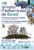 Cartel VIII Jornadas Mediterraneas del Bonsai
