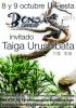 Cartel Exposición en Sopelana con Taiga Urushibata
